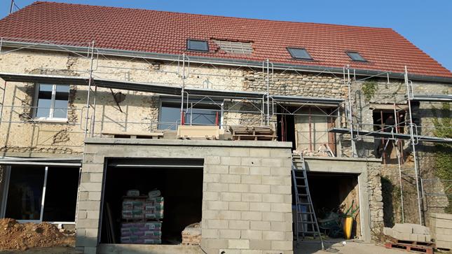 Pose de 3 fenêtres de toit